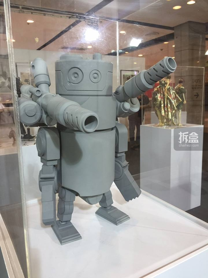 双炮大马丁机器人