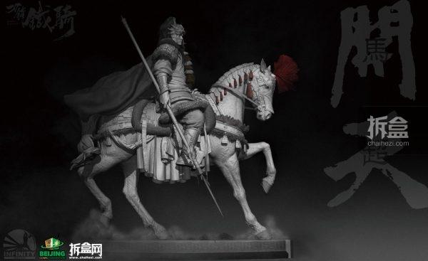 开天工作室将带来新品:《刀锋铁骑》马超雕像 首次公开展出!