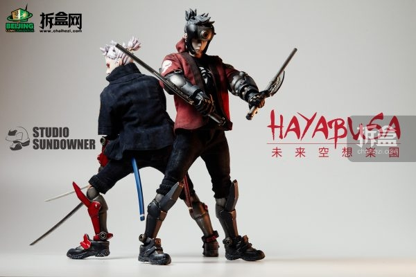 台湾原创人偶品牌Studio Sundowner 「未来空想乐园」#2-HAYABUSA 隼
