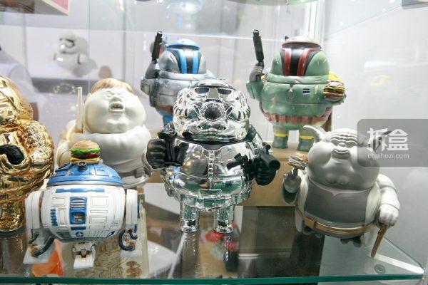 Famous Chunkies 胖胖星球大战Art Toy