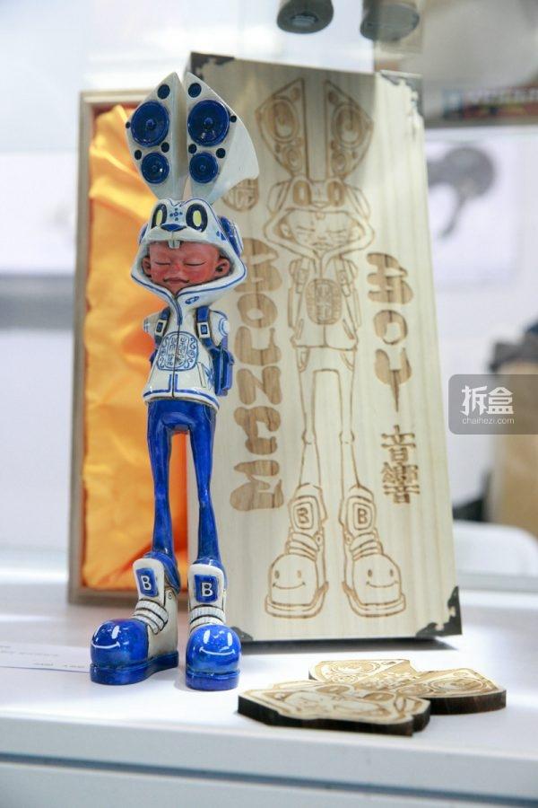 台湾涂鸦艺术家Bounce x VTSS:12寸 青花 Bounce Boy