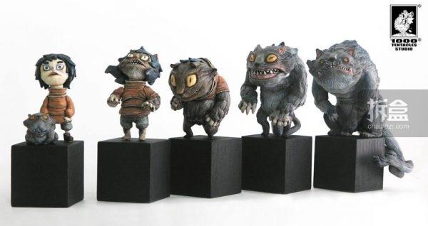 异变系列第二弹:猫女 雕塑组