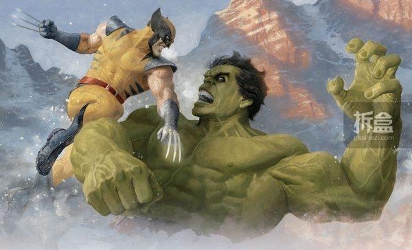 Hulk vs Wolverine-2