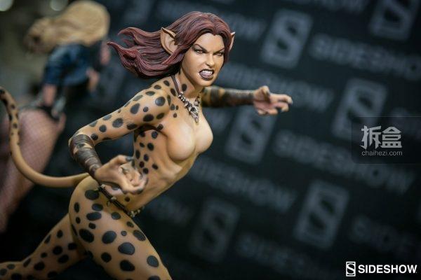 《神奇女侠》反派 猎豹女CHEETAH PF雕像