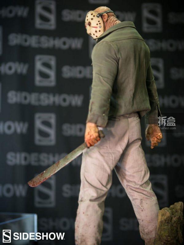Sideshow《十三号星期五》水晶湖传说-杰森/Jason 22.5寸PF系列雕像