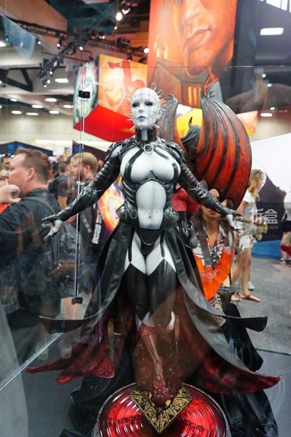 《猛鬼追魂》Hell Priestess 女版钉子头PF系列雕像