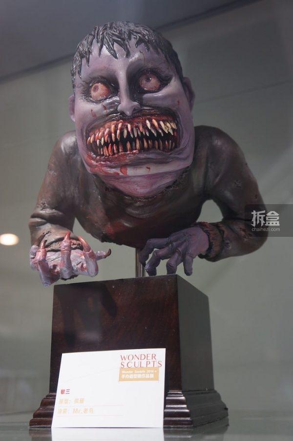 Junji Itou-statue (2)