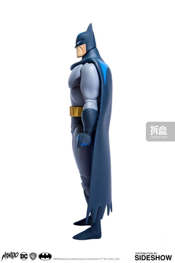 蝙蝠侠动画片国语版_Sideshow × Mondo DC动画版 蝙蝠侠Batman1:6可动人偶 | 拆盒网